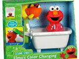 Elmo's Color Changing Bath Set