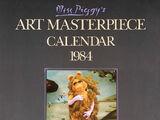 Miss Piggy's Art Masterpiece Calendar