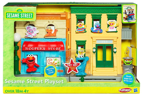 Sesame Street Playsets (Hasbro)