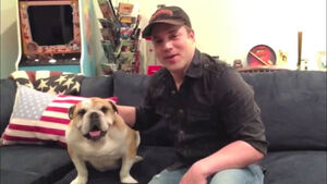 Geoff Johns 2014 Celebrity Pet Adoption Calendar.jpg