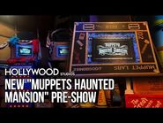 """New """"Muppets Haunted Mansion"""" Pre-show at MuppetVision 3D - Disney's Hollywood Studios"""