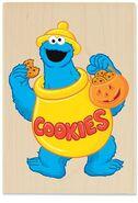 Stampabilities halloween cookie monster