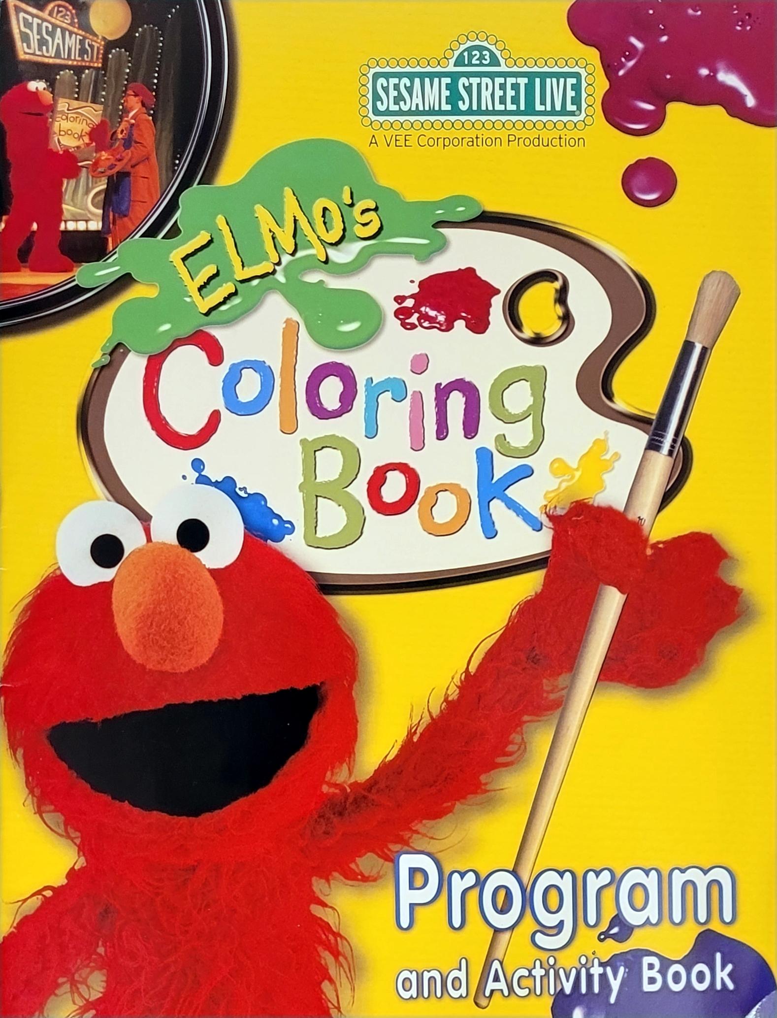 - Elmo's Coloring Book Muppet Wiki Fandom