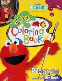 Elmo's Coloring Book