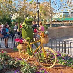 Epcot Flower & Garden Fest-2019 - Kermit -02