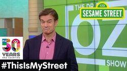 Sesame Street Memory Dr. Oz ThisIsMyStreet
