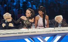 Statler Waldorf Rowland Contostavlos - X Factor UK