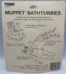 Tomy fozzie bear bathtubbies 4