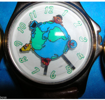 Fossil sesame globe watch