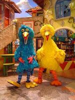 Garibaldo and Big Bird