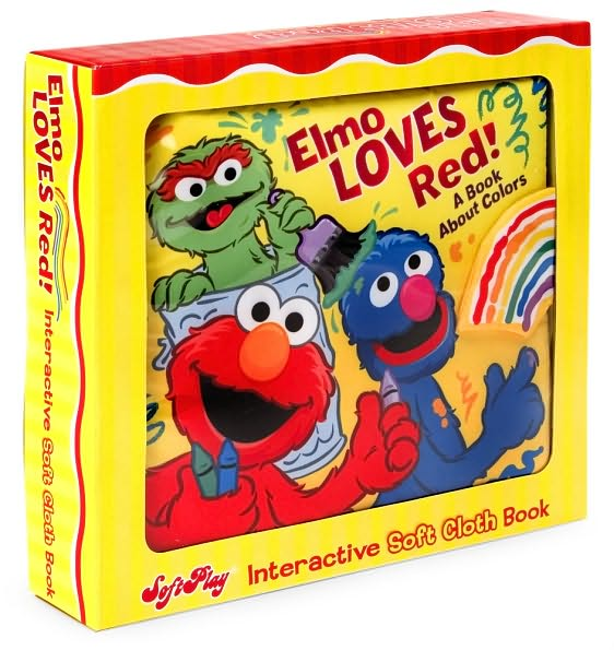 Elmo Loves Red!