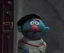 Lefty (Fat Blue Anything Muppet)