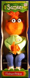 Fisher-price 1978 scooter plush doll 1