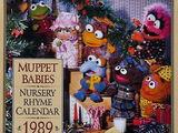 Muppet Babies Nursery Rhyme Calendar 1989