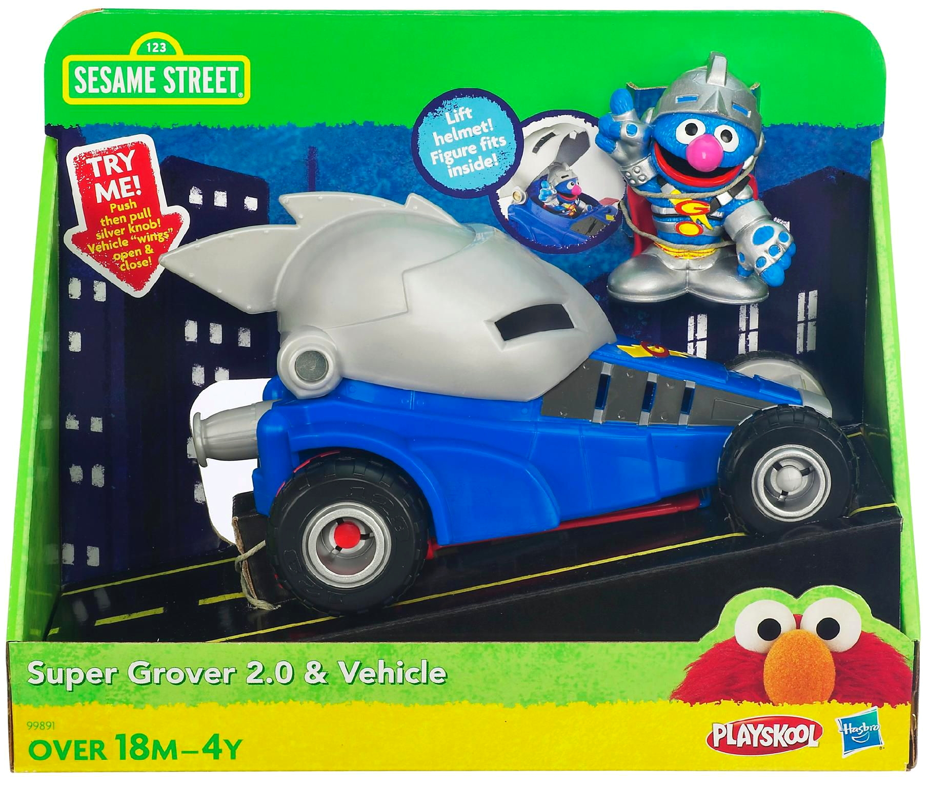Super Grover 2.0 & Vehicle
