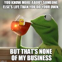 But That's None Of My Business - 2