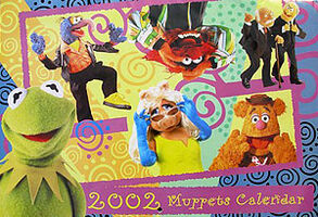 2002 Muppets Calendar