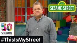 Sesame Street Memory Patton Oswalt ThisIsMyStreet