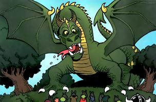 Dragon Muppet King Arthur