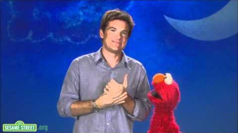 Sesame Street Jason Bateman-Alphabet
