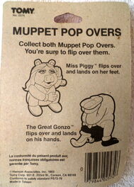 Tomy 1983 miss piggy karate champ wind-up pop overs 3