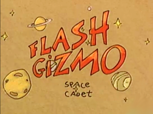 Flash Gizmo, Space Cadet
