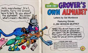 Grover's Own Alphabet sample