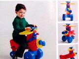 Sesame Street ride-on toys (CBS Toys)