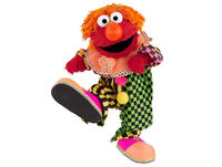 Elmo clown promo