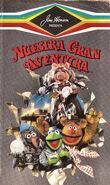 Great muppet caper argentina vhs