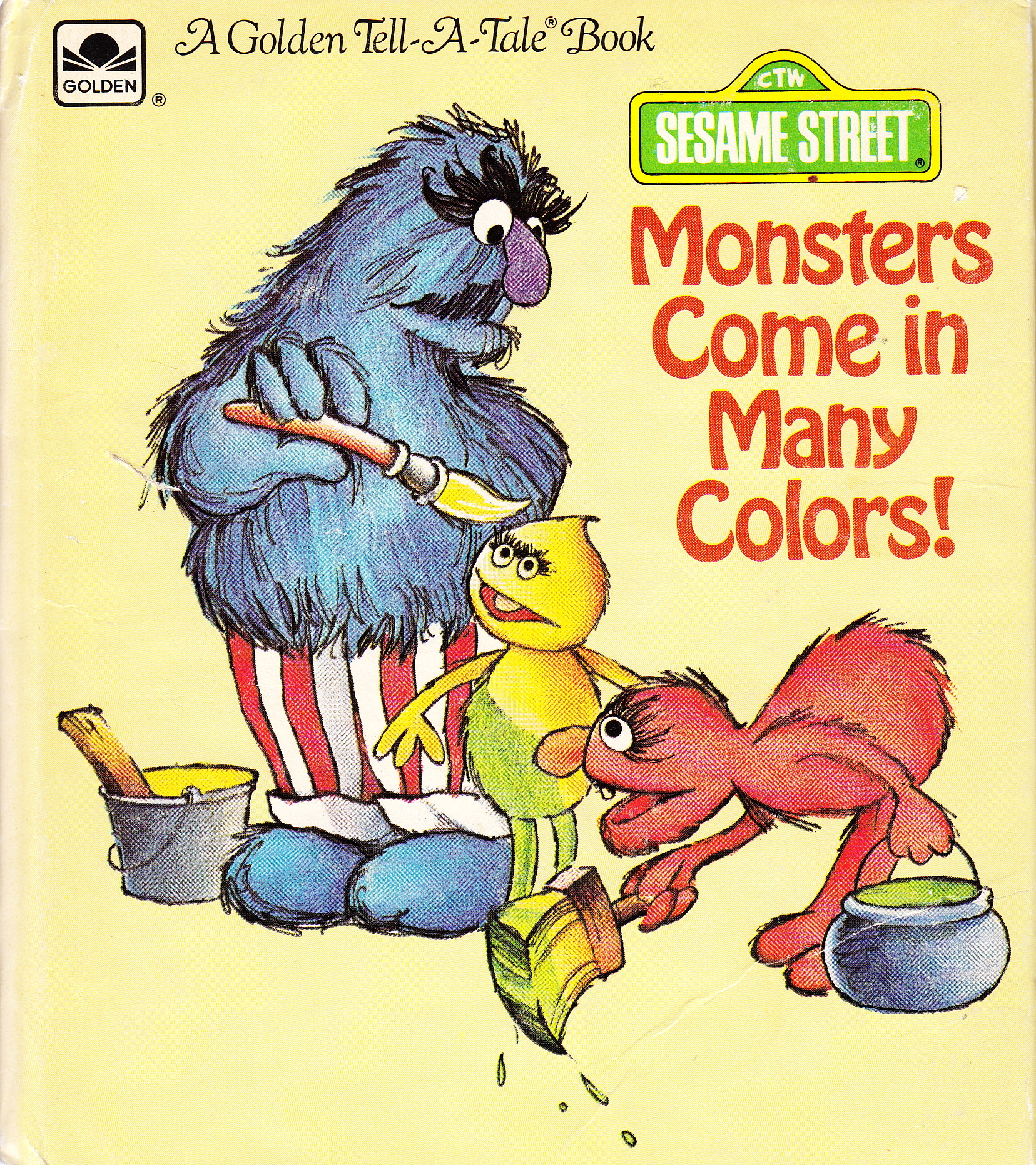 Monsters Come in Many Colors!