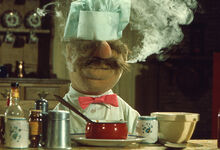 Chef smoking