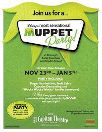 El capitan theatre muppet menu