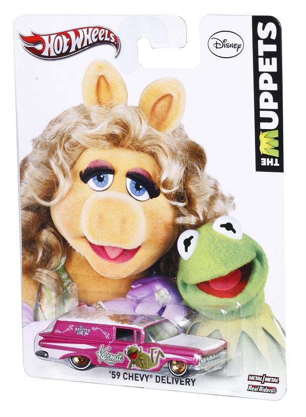 Muppet die-cast cars (Hot Wheels)