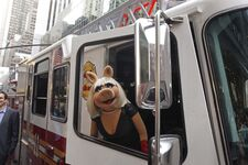 Miss-Piggy-in-Fire-Truck-on-Madison-Ave-9-6-12