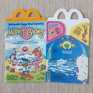 Muppet Babies Happy Meal box 02a
