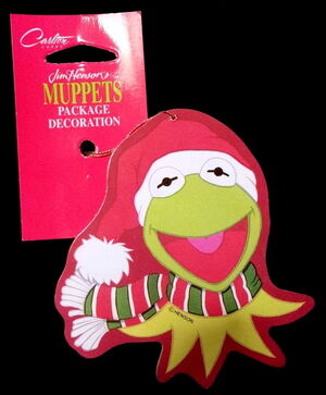 Carlton cards kermit christmas tags.jpg