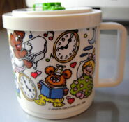 Eagle 1988 muppet babies clock mug 3