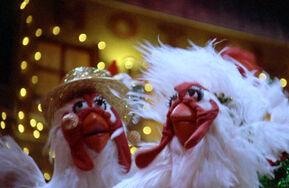 VMX chickens Lady Marmelade