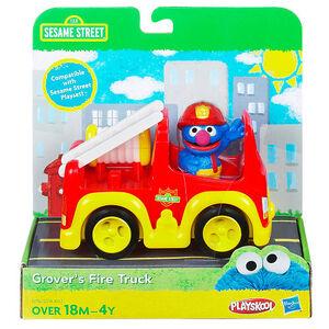 Grover's fire truck hasbro 1