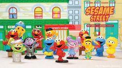 Pop Mart Sesame Street Basic Series Blind Boxes