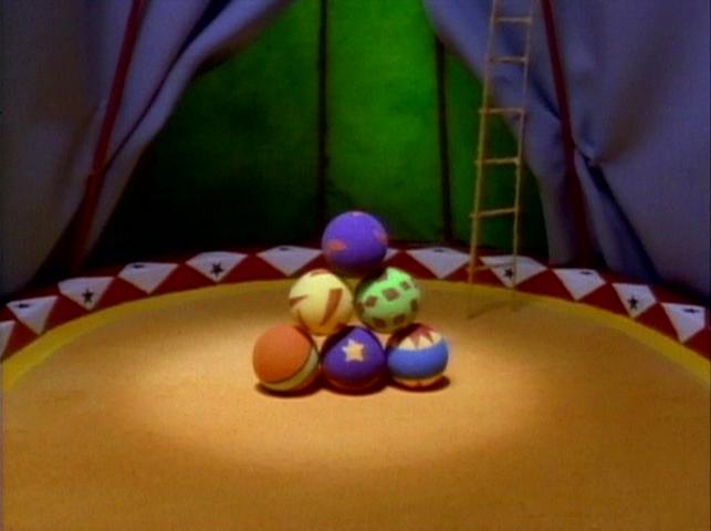 Six Circus Balls