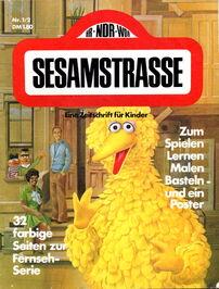 Sesamstrasse magazine nr 1-2