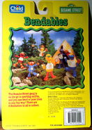 Child dimension 1992 camp sesame bendable pvc package