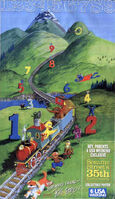 USA Today Sesame 35th Spinney art