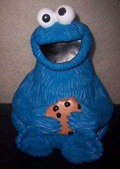 Sesame Street cookie jars (Applause)