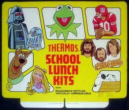 Lunch box ad
