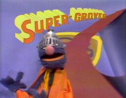 SuperGrover Title
