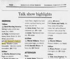 Animal Show season three Feb 19 1998