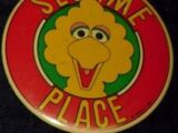 Sesame Place buttons and pins